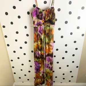 🔥30%OFF🔥EUC Alyn Paige colorful maxi dress M